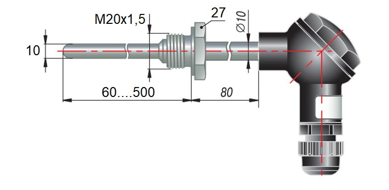 дТП075 - преобразователь термоэлектрический