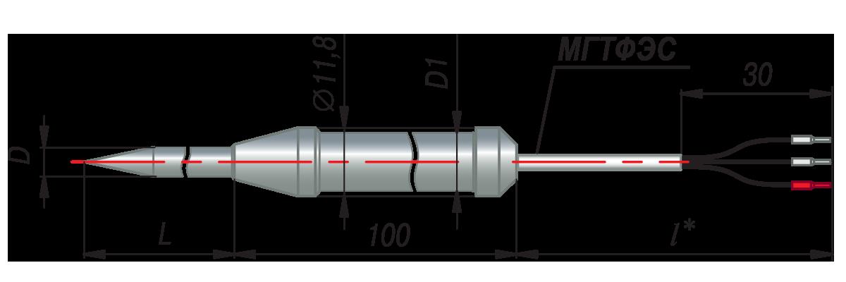 дТС184 - термопреобразователь сопротивления