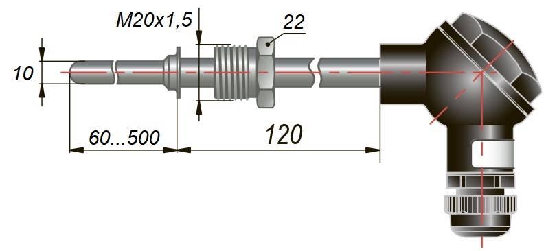 дТС045 - термопреобразователь сопротивления
