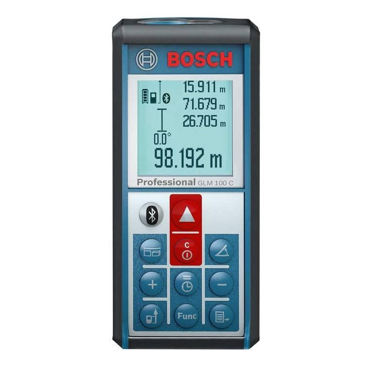 Bosch GLM-100C - лазерный дальномер