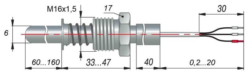 дТС124 - термопреобразователь сопротивления