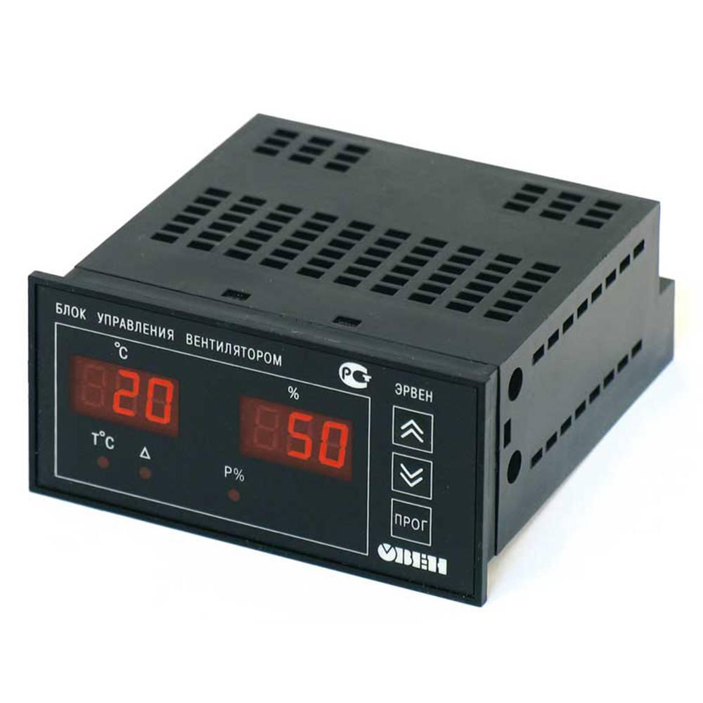 ЭРВЕН - регулятор скорости вращения вентилятора в зависимости от температуры