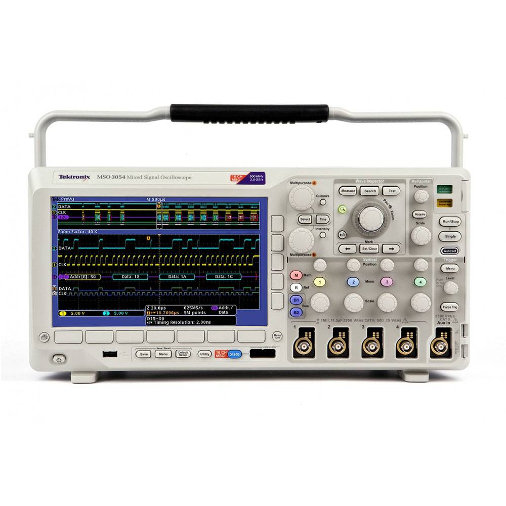 DPO3054 - цифровой осциллограф