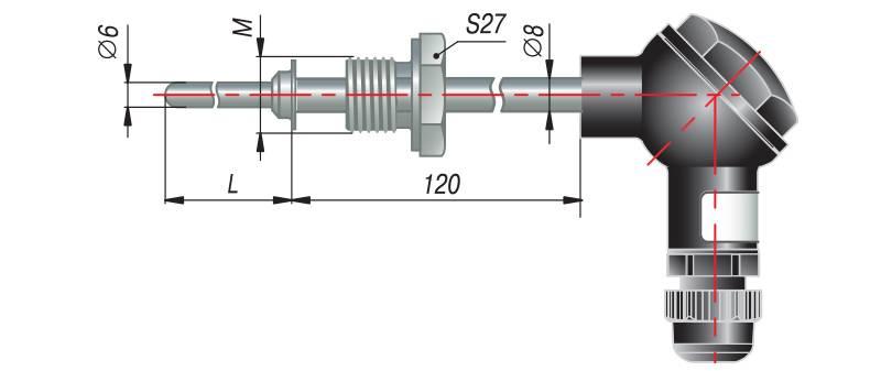 дТП265 - преобразователь термоэлектрический
