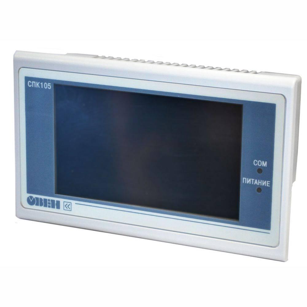 СПК105 - панельный программируемый логический контроллер
