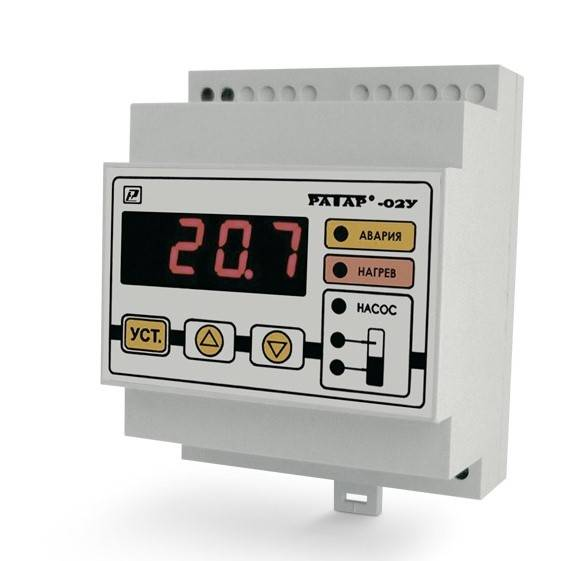 Ратар-02У - терморегулятор со встроенным реле контроля уровня