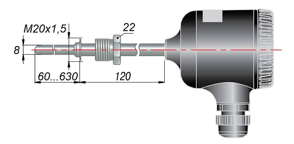 ДТС035М - термопреобразователь сопротивления