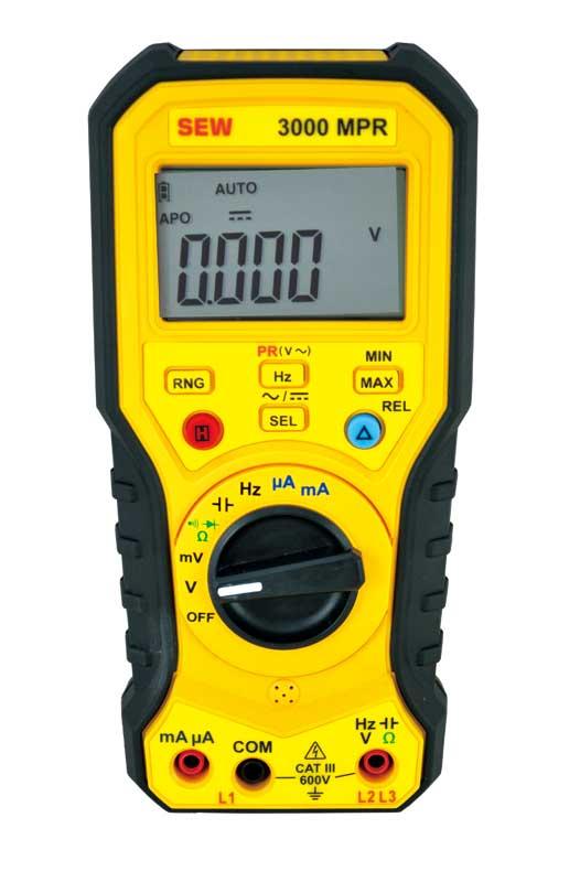 3000 MPR - мультиметр цифровой