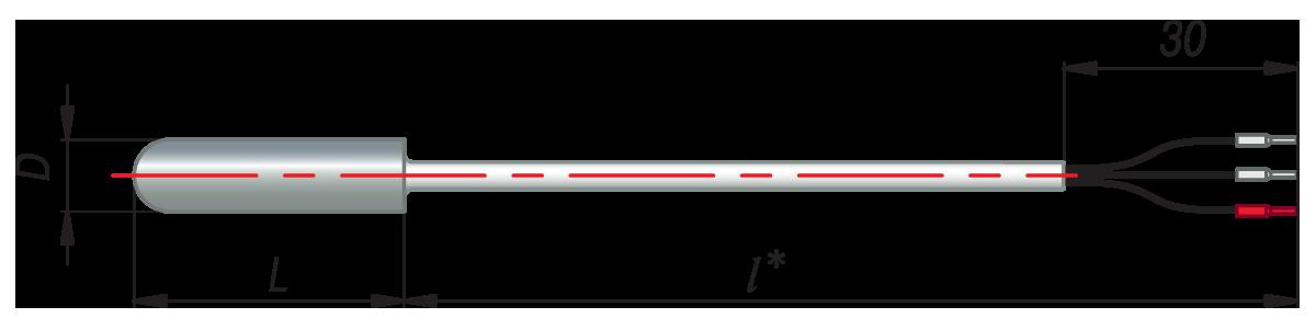 дТС024 - термопреобразователь сопротивления