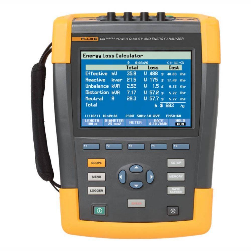 Fluke 435-II/RU - анализатор качества электроэнергии