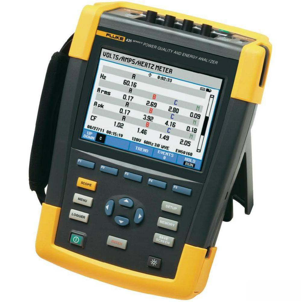 Fluke 435-II/BASIC - анализатор качества электроэнергии (без датчиков тока)