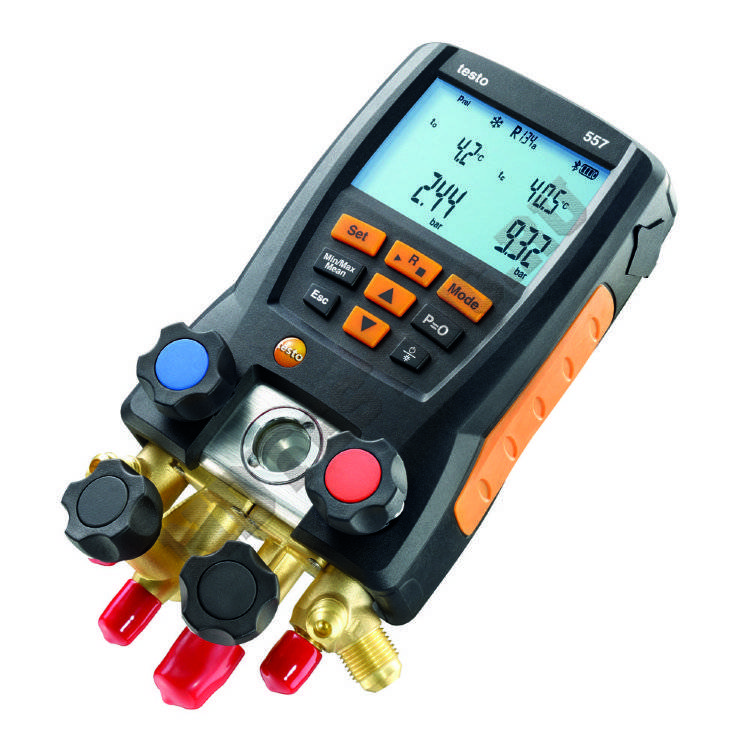 testo 557 Bluetooth - цифровой манометрический коллектор