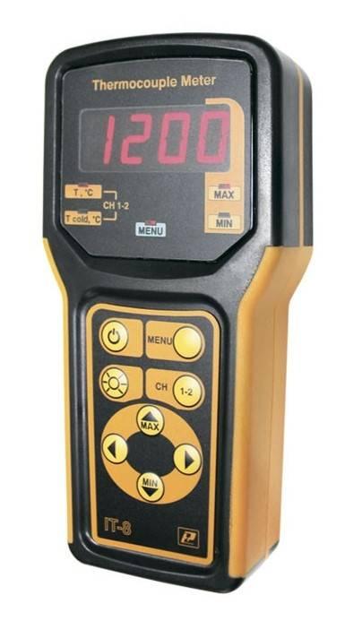 IT-8 - измерители температуры цифровые портативные повышенной точности