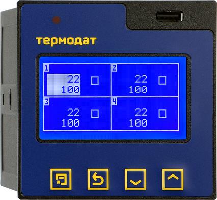 Термодат-17M6 - измеритель-регистратор
