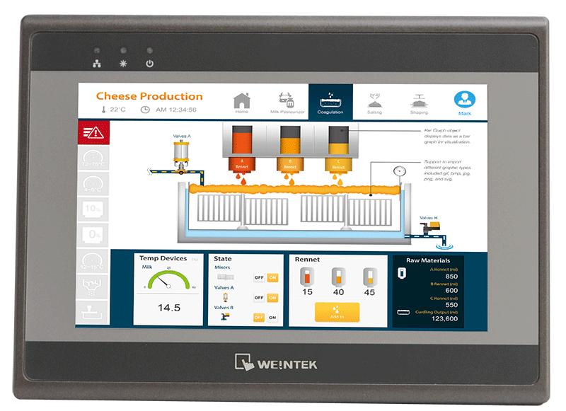 Weintek eMT3070B - панель оператора серии eMT