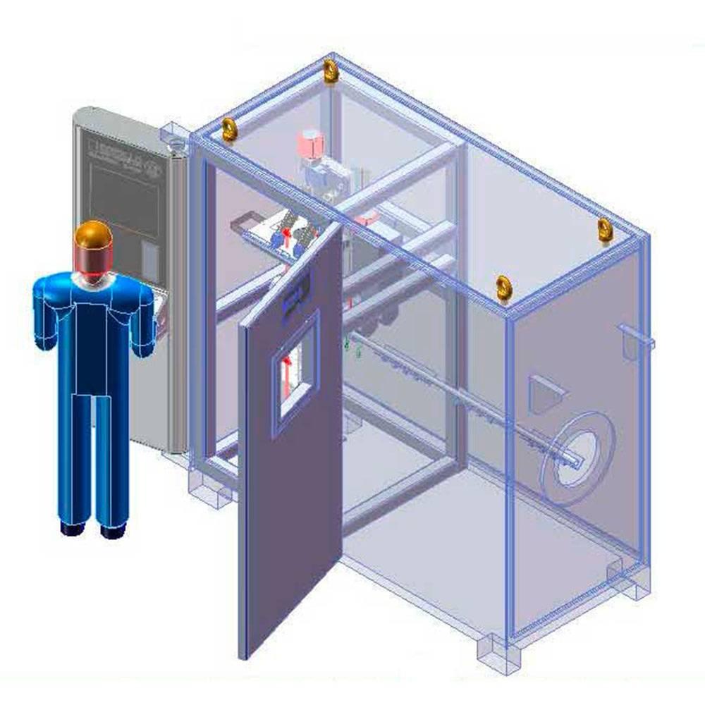 S.R.E 150 - лабораторная система с камерой радиационной защиты