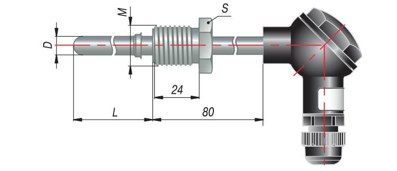 дТП185 - преобразователь термоэлектрический