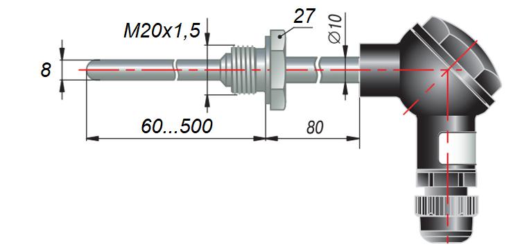 ДТС065 - термопреобразователь сопротивления