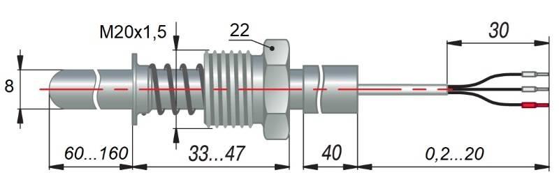 дТС134 - термопреобразователь сопротивления
