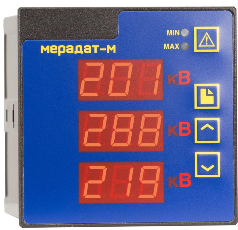 Мерадат-M3B1 - регистратор напряжения и силы тока в цепи