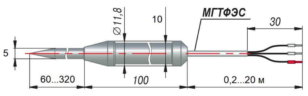 дТП174 - преобразователь термоэлектрический