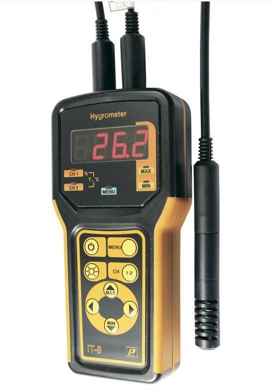 IT-8-RHT - термометр - гигрометр цифровой портативный