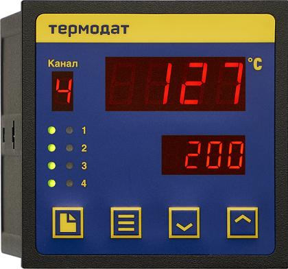 Термодат-11M6 - измеритель-регистратор