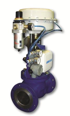 КПСР - клапан регулирующий, запорно-регулирующий, отсечной