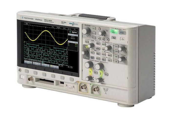 DSOX2022A - цифровой осциллограф