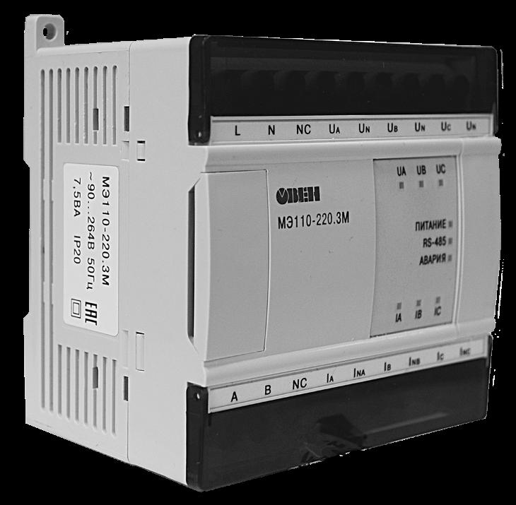 МЭ110-220.3М - модуль ввода параметров электрической сети