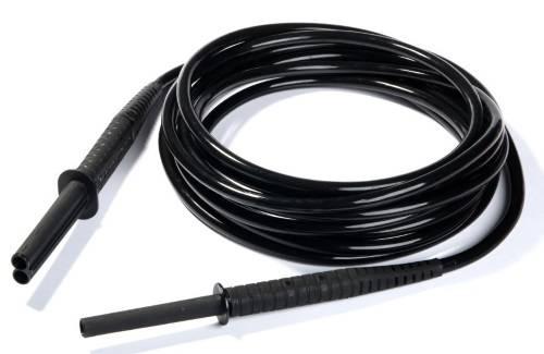 Провод измерительный с разъемами «банан» экранированный 10 кВ черный 10 м - для MIC-50XX, MIC-10k1
